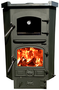 The Corner Solid Fuel Oven Stove by Bubble Products, Harworth, Doncaster.